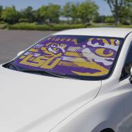 LSU Tigers Car Sun Shade