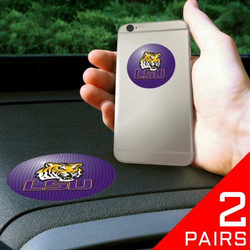 LSU Tigers Cell Phone Grips - 2 Pack
