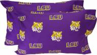 LSU Tigers Printed Pillowcase Set