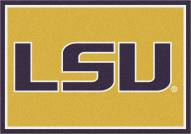 LSU Tigers College Team Spirit Area Rug