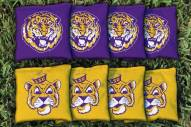 LSU Tigers College Vault Cornhole Bag Set