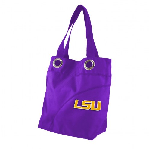 LSU Tigers Color Sheen Tote Bag