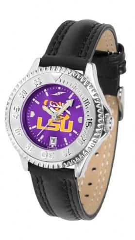 LSU Tigers Competitor AnoChrome Women's Watch