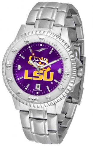 LSU Tigers Competitor Steel AnoChrome Men's Watch