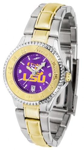 LSU Tigers Competitor Two-Tone AnoChrome Women's Watch