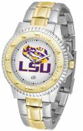 LSU Tigers Competitor Two-Tone Men's Watch