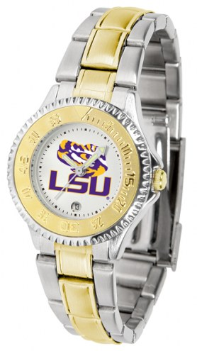LSU Tigers Competitor Two-Tone Women's Watch