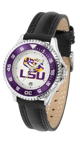 LSU Tigers Competitor Women's Watch