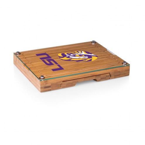 LSU Tigers Concerto Bamboo Cutting Board