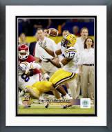 LSU Tigers Corey Webster 2004 Action Framed Photo