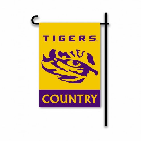 LSU Tigers Country Garden Flag