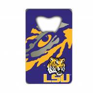 LSU Tigers Credit Card Style Bottle Opener