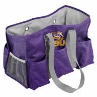 LSU Tigers Crosshatch Weekend Bag