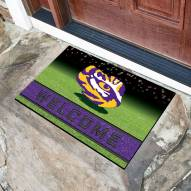 LSU Tigers Crumb Rubber Door Mat