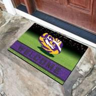 LSU Tigers Crumb Rubber Door Mat