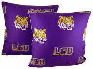 LSU Tigers Decorative Pillow Set