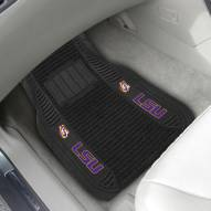 LSU Tigers Deluxe Car Floor Mat Set