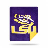 LSU Tigers Denali Sliver Knit Throw Blanket