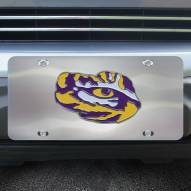 LSU Tigers Diecast License Plate