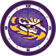 LSU Tigers Dimension Wall Clock