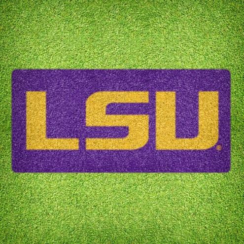 LSU Tigers DIY Lawn Stencil Kit