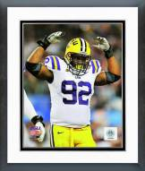 LSU Tigers Drake Nevis Action Framed Photo