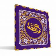 LSU Tigers Eclectic Canvas Print