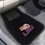 LSU Tigers Embroidered Car Mats