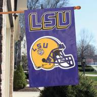 LSU Tigers NCAA Applique 2-Sided Banner Flag