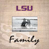 LSU Tigers Family Picture Frame