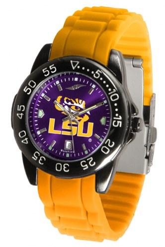 LSU Tigers Fantom Sport Silicone Men's Watch