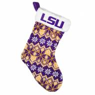 LSU Tigers Christmas Stocking