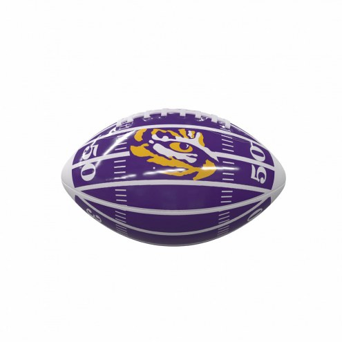 LSU Tigers Field Mini Glossy Football