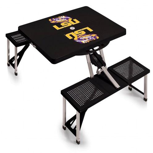 LSU Tigers Folding Picnic Table
