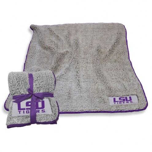 LSU Tigers Frosty Fleece Blanket