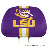 LSU Tigers Full Print Headrest Covers