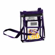 LSU Tigers Gameday Clear Crossbody Tote