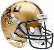 LSU Tigers Gold Schutt XP Collectible Full Size Football Helmet