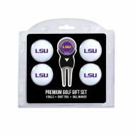 LSU Tigers Golf Ball Gift Set