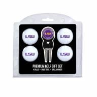 LSU Tigers Golf Ball Gift Set