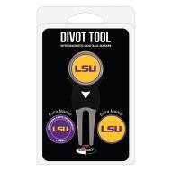LSU Tigers Golf Divot Tool Pack