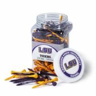 LSU Tigers 175 Golf Tee Jar