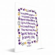 LSU Tigers Hand-Painted Song Canvas Print