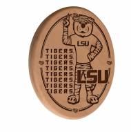 LSU Tigers Laser Engraved Wood Sign