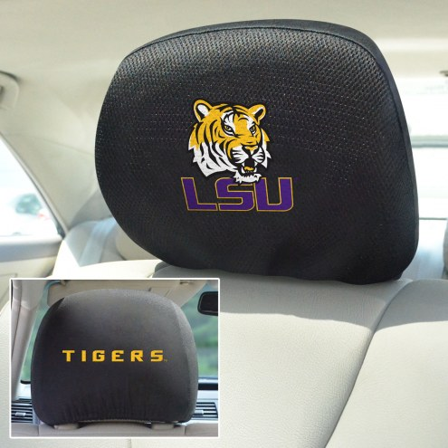 LSU Tigers Headrest Covers