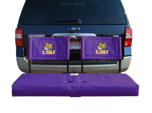 LSU Tigers Tailgate Hitch Seat/Cargo Carrier