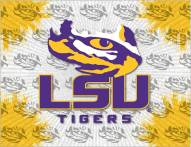 LSU Tigers Logo Canvas Print