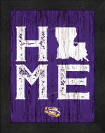 LSU Tigers Home Away From Home Wall Decor