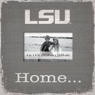 LSU Tigers Home Picture Frame