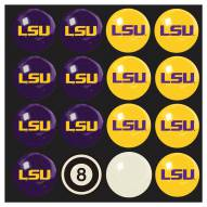 LSU Tigers Billiard Balls - Full Set